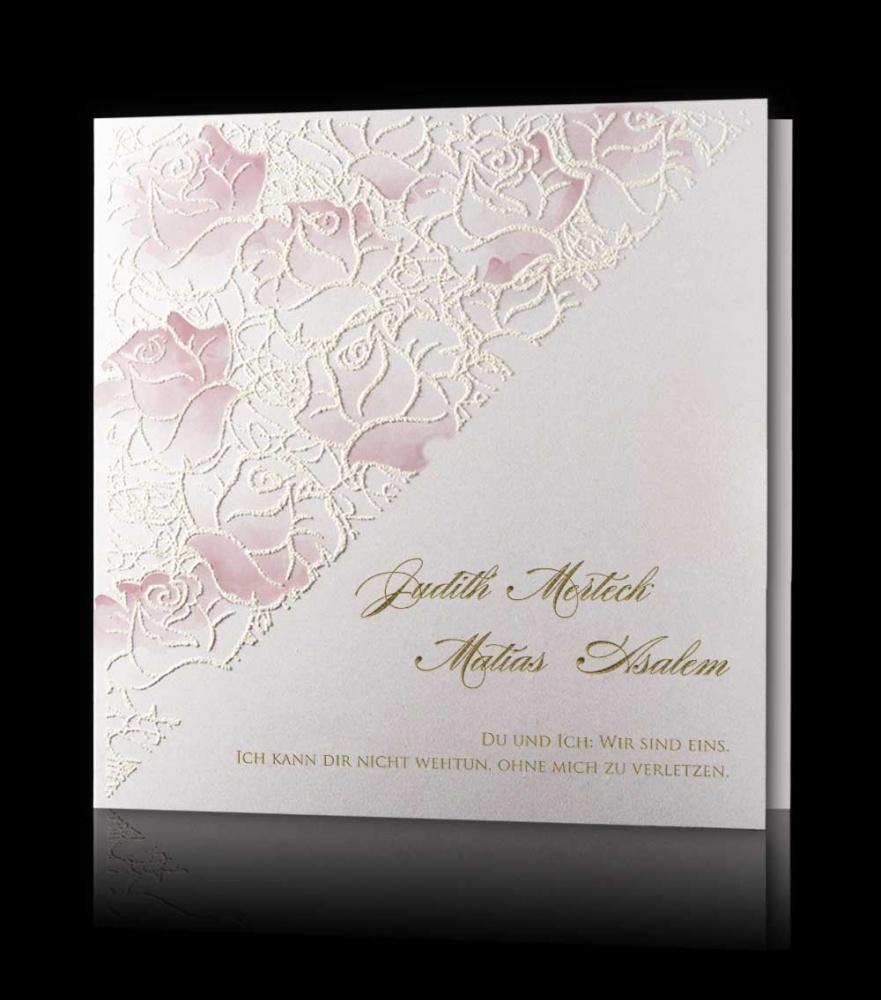 Hochzeitskarten C 2906 Hochzeitskarten Kollektion 2018 Exklusive