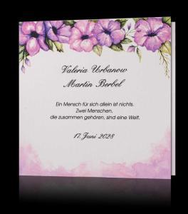 Moderne Hochzeitskarten Einladungen Pamas