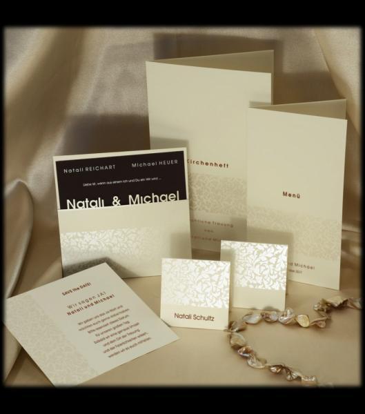 Hochzeitskarten D 2303 Klassische Hochzeitskarten Online Bestellen